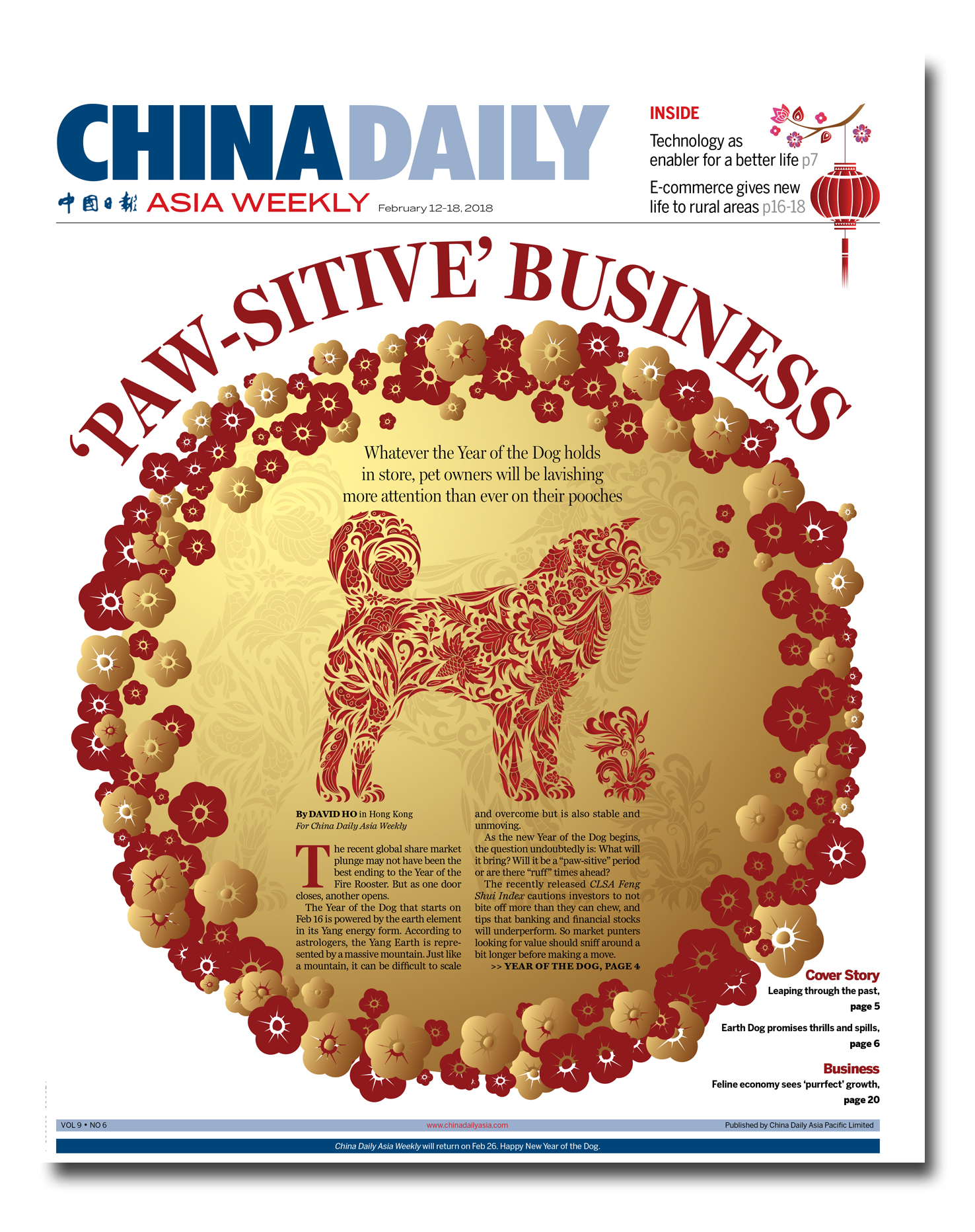 Paw Sitive Business China Daily Asia Weekly China Daily Asia Weekly